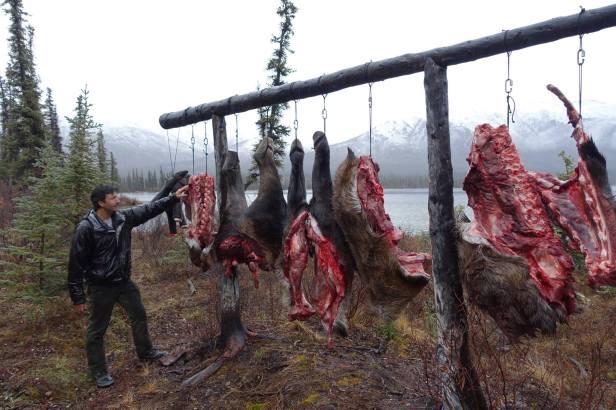 meat pole